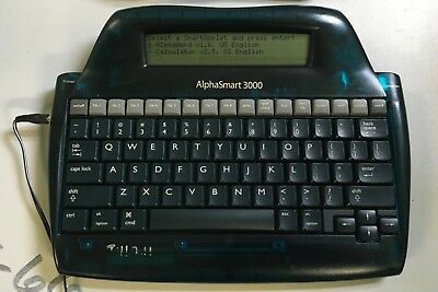 Alphasmart 3000 Portable Laptop Keyboard Word Processor