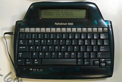 Alphasmart 3000 Portable Laptop Keyboard Word Processor