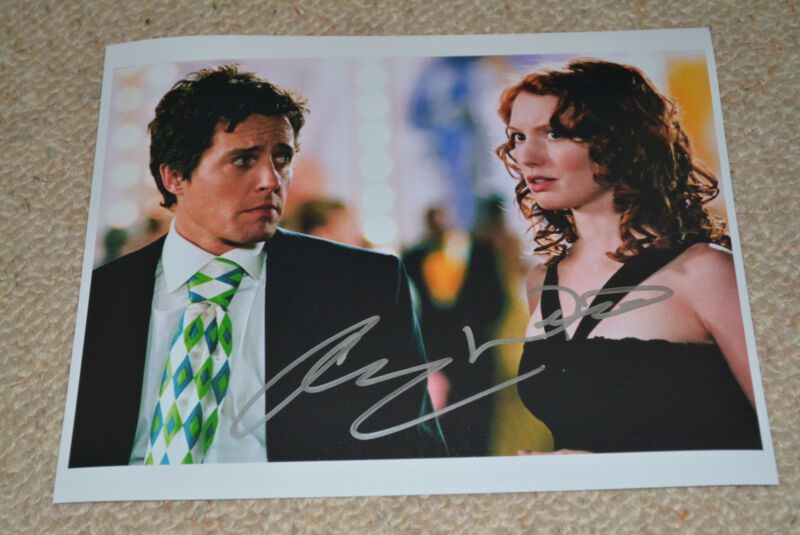 ALICIA WITT  signed autograph In Person 8x10 20x25 cm TOW WEEKS NOTICE