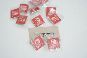 Nintendo Switch Promo E3 Promotional Pin - New & Authentic Guaranteed