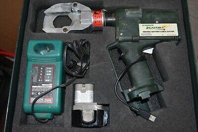 Greenlee Gator Esg50gl 12 Volt Cable Cutter