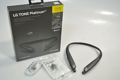 LG TONE PLATINUM+ BLUETOOTH HEADSET BLACK HBS 1125