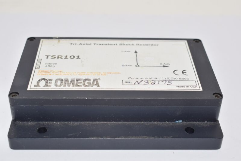 Omega TSR101 Tri-Axial Transient Shock Data Logger Module