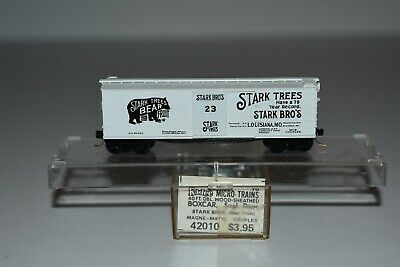 N Scale Kadee 42010 Stark Trees 40' Single Door Boxcar 23 C8080, used for sale  Middlesboro