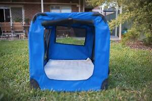 Extra Large Portable Soft Pet Dog Crate Cage Kennel 90cm Gowanbrae Moreland Area Preview