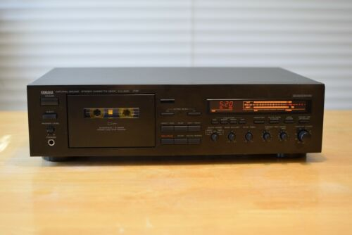 Yamaha KX-930  3 Head Cassette Deck, Dolby B/C, Play Trim and more