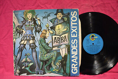 ABBA 'Grandes Exitos' LP Spain Press