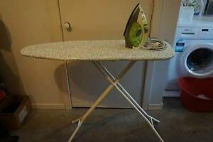 Iron with Ironing board