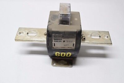 USED Schlumberger Current Transformer Serial No: 17614339 600:5A FREE SHIPPING