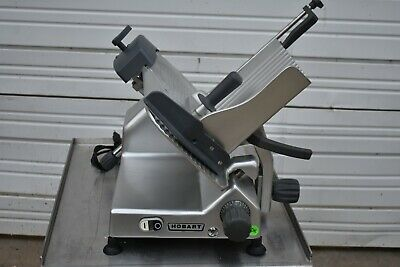 2018 Hobart Edge 12-11 Manual Meat Cheese Slicer With Sharpener
