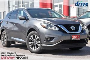 2015 Nissan Murano SL Navigation|Rearview Camera|Leather Upho...