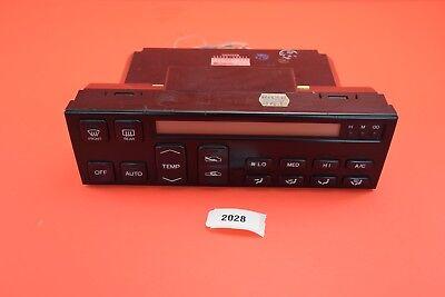 B24 1990-1992 Lexus LS400 LS400 Climate Control AC HVAC 55900-50011