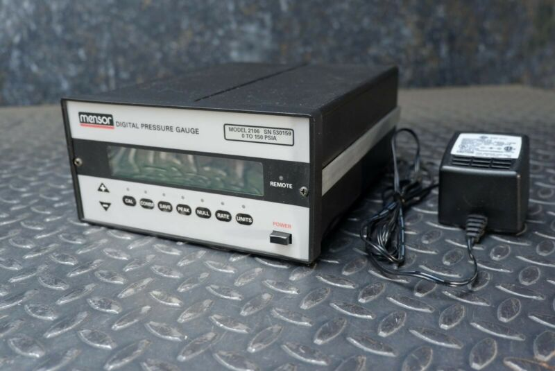 Mensor 2106 Digital Pressure Gauge 0-150PSIA