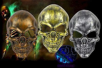 New Skull Skeleton Adult Plastic Halloween Face Mask](Plastic Skull Mask)