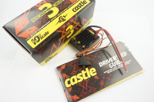 Castle Creations SV3 1/10 Sidewinder 3 Waterproof Brushless ESC Speed Control
