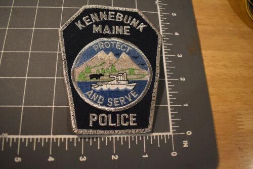 Vintage Kennebunk ME Police Patch