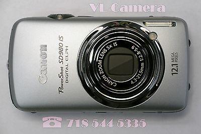 как выглядит Canon Digital ELPH SD980 IS / Digital IXUS 200 IS 12.1 Megapixel Mint Condition фото