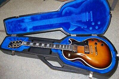 1988 Gibson Les Paul Custom Sunburst with Gibson Hard Case Pre-owned Nice!