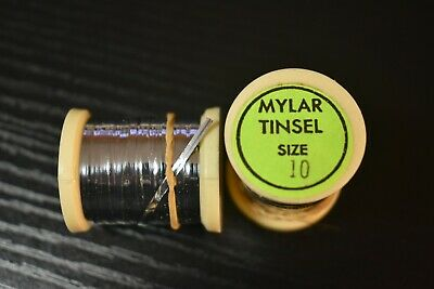 Gold Silver all sizes  Fly Tying Uni French Oval Tinsel lot available