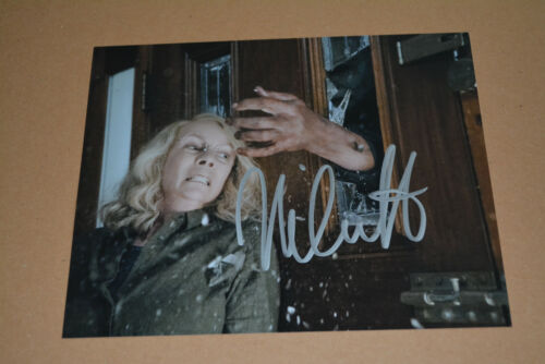 NICK CASTLE signed Autogramm In Person 20x25 cm HALLOWEEN Mike Myers