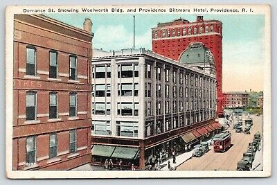 Providence RI~Dorrance Street Clothing Store~Woolworth Bldg~Biltmore (Biltmore Store)