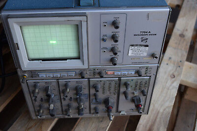 Xlt Tektronix Scope Osilloscope 4 Channel Analog Test 7704a 7a26 7b50 7b80