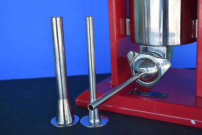 The Best 3-sizes Stainless Steel Sausage Stuffer Filler Funnel Tubes For Vivo