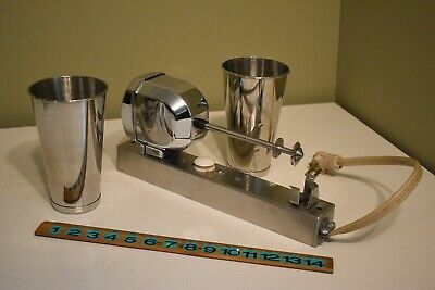 Vintage Waring 31dm33 Commercial Wall Mount Single Head Milkshake Drink Mixer