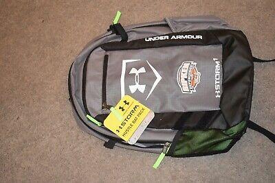 Under Armour Hustle Baseball Softball Gear Bat Backpack Storm New NWT RIPKEN EXP