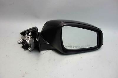 2013-2017 BMW F30 3-Series Right Outside Side Mirror Power-Fold Black Sapphire