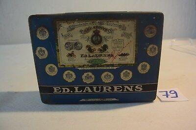 C79 Très ancienne boite en métal Ed. Laurens Egypte