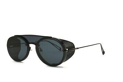 MAX MARA Sunglasses Side Shield Black Briseis 003 Grey Blue Brand New (Max Mara Mens)