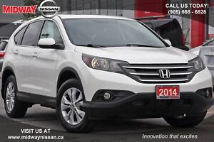 2014 Honda CR-V EX-L EXL- AWD  Bluetooth|MoonRoof|Leather Uph...
