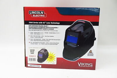 Lincoln Electric Viking 1840 Black Welding Helmet