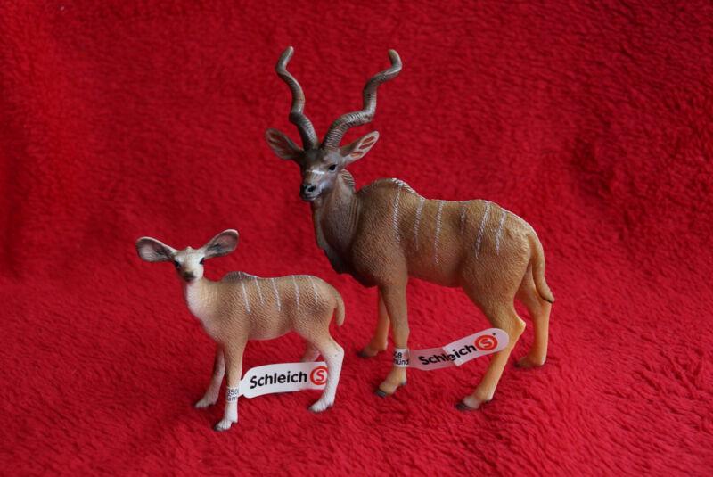 Schleich Kudu Family 14645/14644, Retired