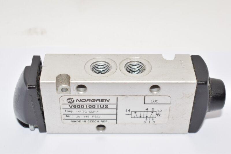 NORGREN V6001001US Pneumatic Direct Solenoid Valve, 29-145 PSI