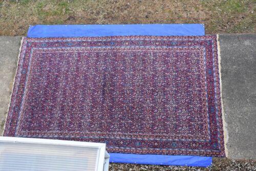 Antique Sultanabad Mahal Rug Estate Carpet  9
