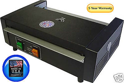 Tlc 7000t Pouch Laminator Machine With Thermometer 12-916 5 Year Usa Warranty