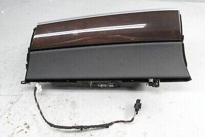 2007-2013 BMW X5 E70 X6 E71 Glove Box Locking Mechanism Storage Box Wood Trim