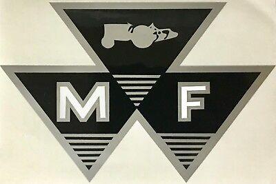 New Massey Ferguson Mf Tractor Triple Triangle 6 Decal Sticker 79024561v