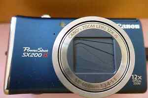 Canon power shot sx200 is digital camera Woolwich Hunters Hill Area Preview