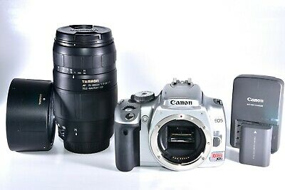 Canon Rebel XTi 400D DSLR Camera with Tamron 75-300mm AF Macro Zoom Lens