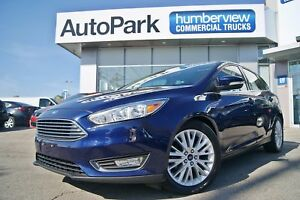 2016 Ford Focus Titanium NAVI|SUNROOF|HEATED LEATHER|