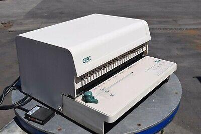 Gbc 111pm-3 Paper Punch Plastic Comb Bind Electric Punch Machine Guaranteed