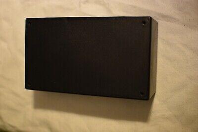 Black Plastic Project Box 7x4x2 12