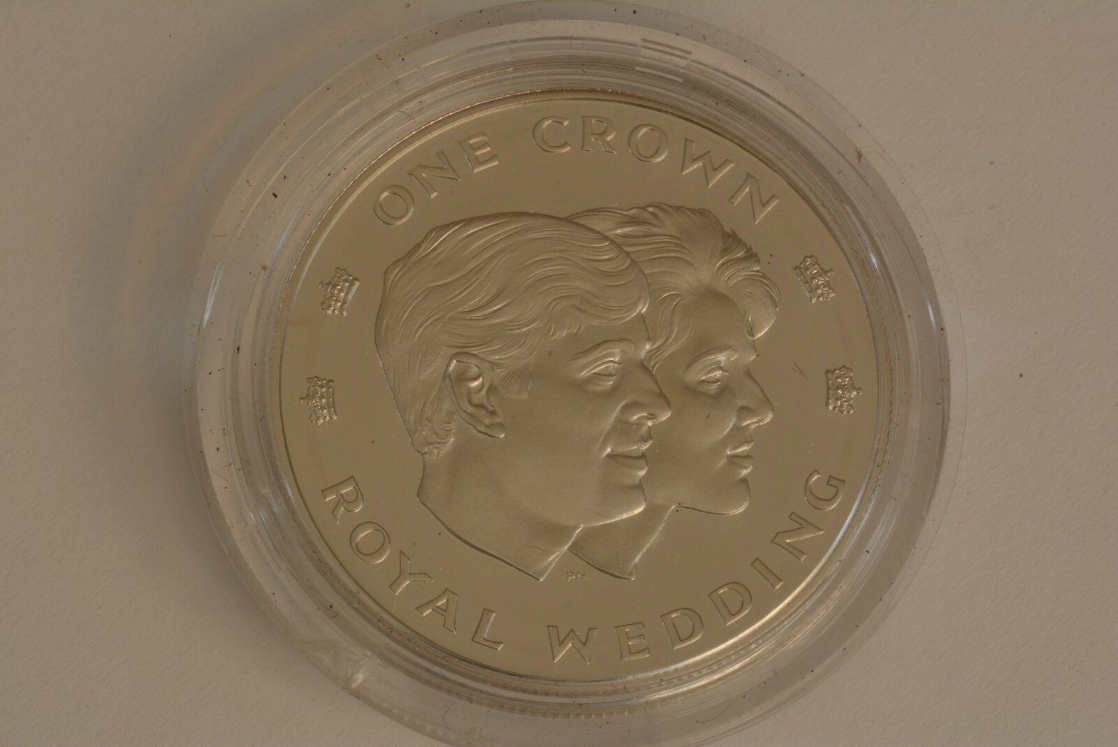 1986 Turks and Caicos Islands Royal Wedding One Crown coin