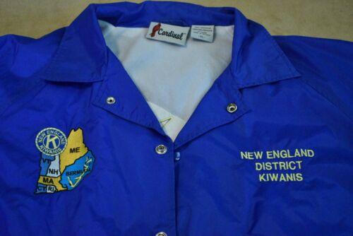 Vintage New England District Kiwanis Windbreaker Jacket
