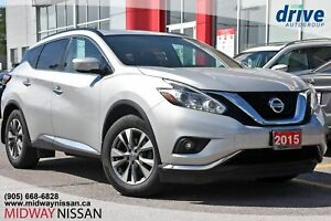 2015 Nissan Murano SV Bluetooth|Power Windows|Heated Seats