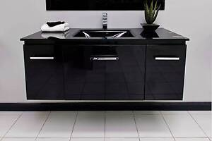 BLACK 1200MM VANITY Cannington Canning Area Preview