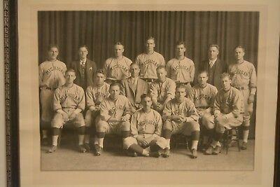 e80d430a08083c original 1929 MICHIGAN WOLVERINES COLLEGE BASEBALL TEAM PHOTO rare